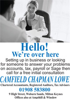 Chartered Accountants, Registered Auditors, Tax Advisors